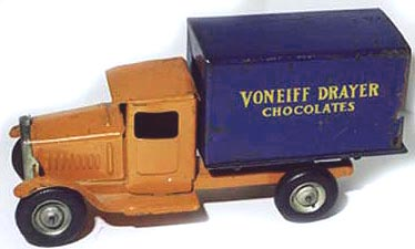 voneiff drayer toy chocolate rare truck