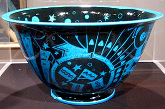 Viktor jazz bowl art deco art 1930's
